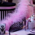 Pink and Black French Couture Bridal Shower