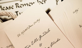 The Finishing Touch Custom Stationery